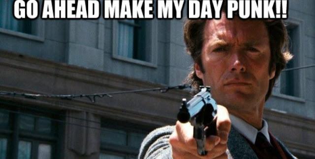 """""""Tayip go ahead, make my day punk"""""""