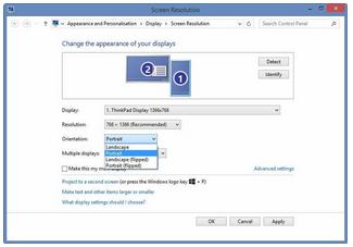 Cara Memutar Layar Komputer di Windows 7, 8 dan 10, Begini caranya