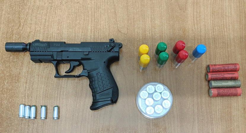 Αλεξανδρούπολη: Σύλληψη για άσκοπους πυροβολισμούς και για παράβαση των νόμων περί όπλων και περί βεγγαλικών