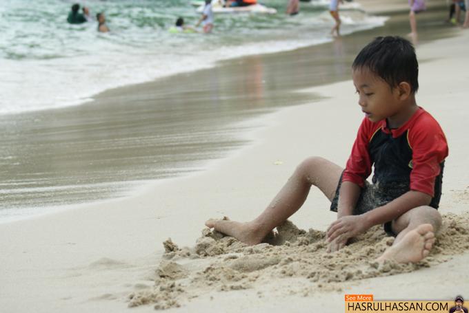 Destinasi Cuti Pantai Teluk Nipah Pulau Pangkor