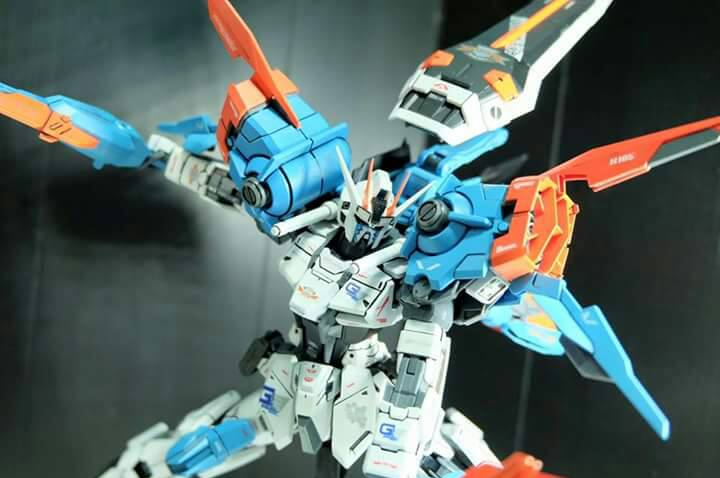 Custom Build: MG 1/100 Gale Strike Gundam