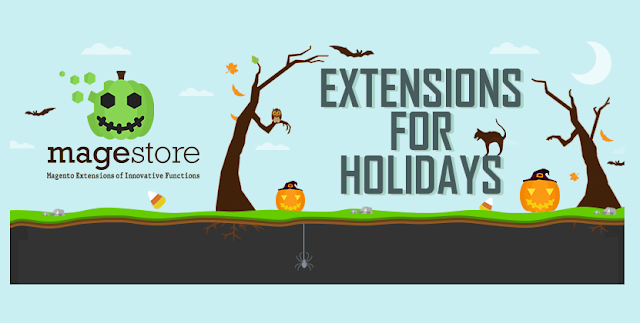 Top-6-Magento-Extensions-To-help-Boost-Holiday-Sales #Infographic