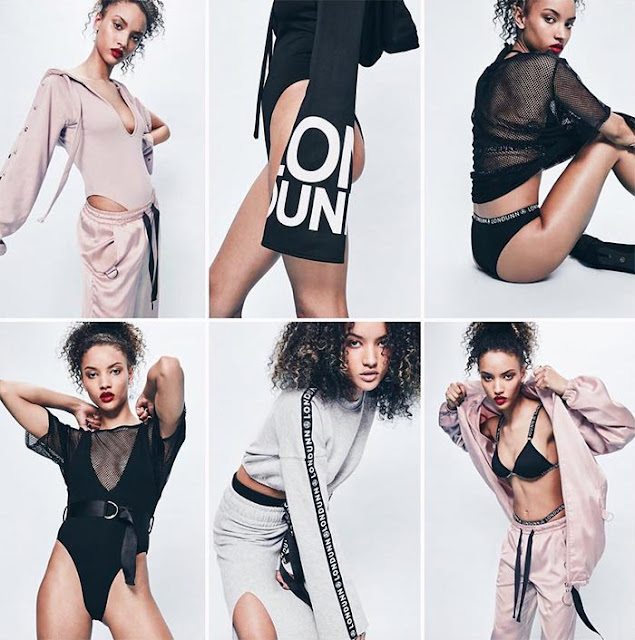 Jourdan Dunn brings an athleisure collection with Missguided for Spring 2017