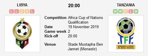 مشاهدة مباراة ليبيا وتنزانيا بث مباشر في تصفيات كأس أمم إفريقيا