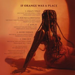 Download New Album: Tems – If Orange Was A Place
