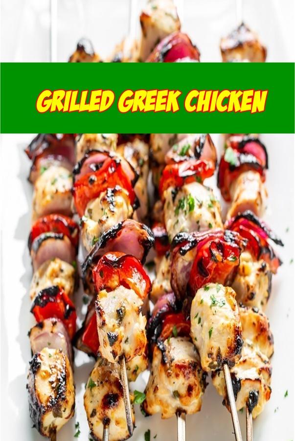 #Grilled #Greek #Chicken