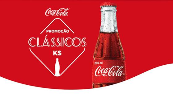 Promoção Clássicos KS Coca-Cola Junte e Ganhe