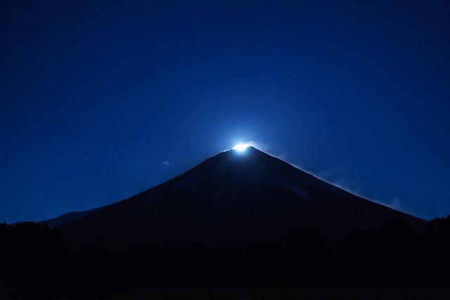 パール富士~朝霧高原(富士宮市上井出)