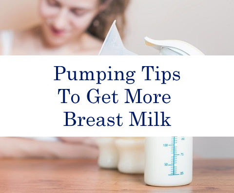 Pumping Tips To Get More Breast Milk
