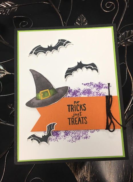 Stampin' Up!, Spooky Sweets, Spooky Bat Punch, stampingwithsusan.com