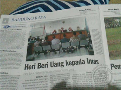 Bupati Subang Imas A Disebut Terima Uang Pungli CPNS 125 Juta. Foto by Hari Hermawan di Suara Subang.