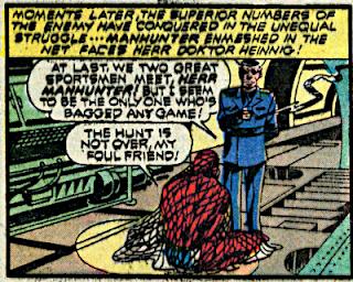 Detective Comics #440, Manhunter in a net