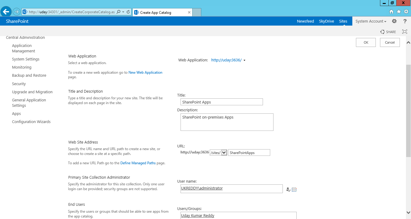 UKReddy SharePoint Journey: How to use SharePoint apps in