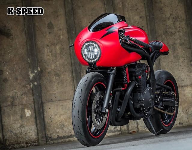 Suzuki Bandit600 By K-Speed Hell Kustom