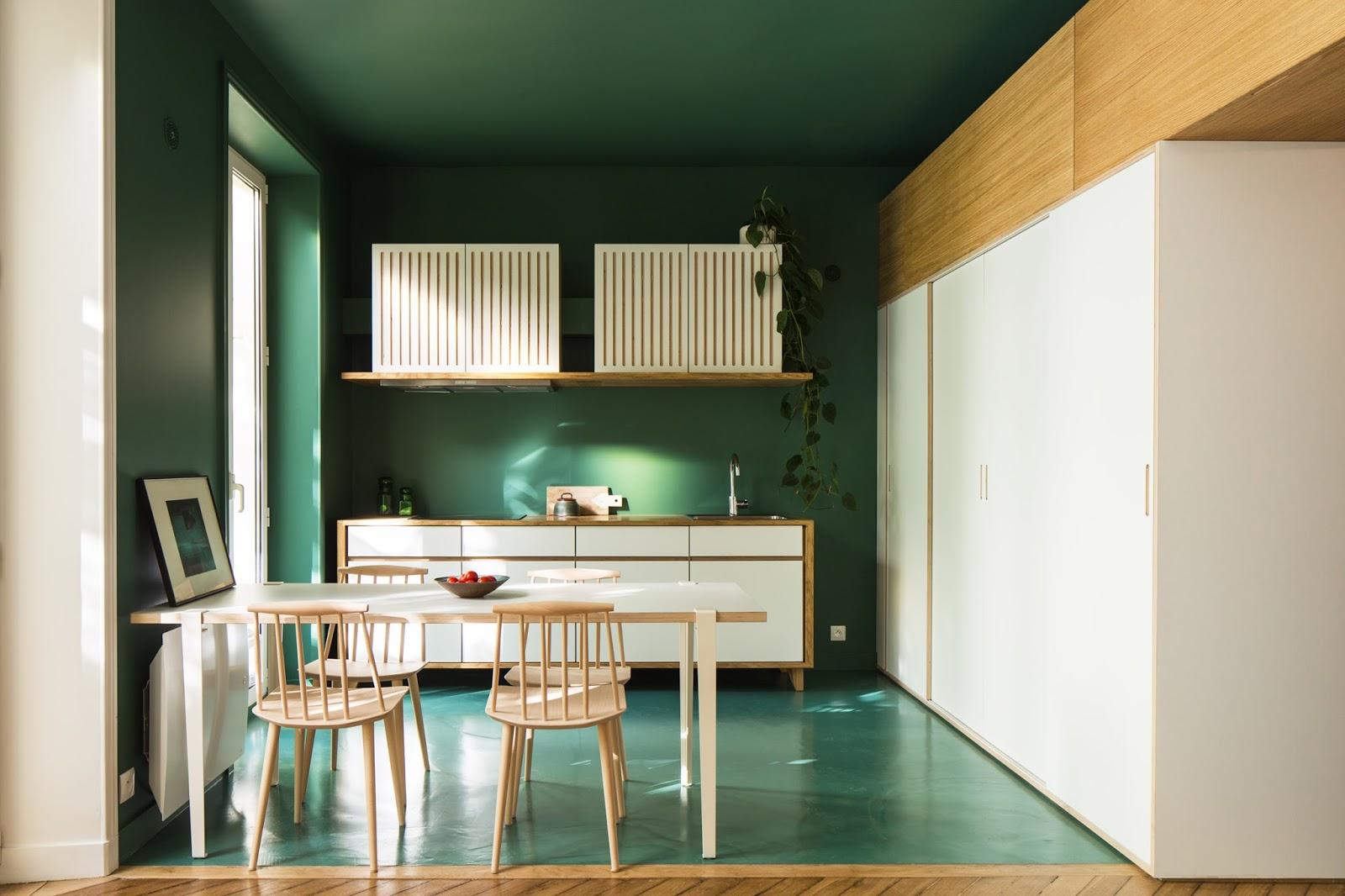 Cucina Bianca Pareti Verdi | 5 Modi Per Usare Il Verde Come Colore D ...