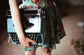 Máquina de escrever!