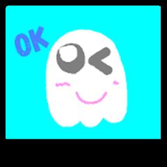 little ghost big head