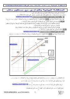 المناقشة البيانية لمستقيم بيان دالة math-3as-fonctions5.