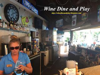 The bar at the Tween Waters Island Resort on Captiva Island, Florida