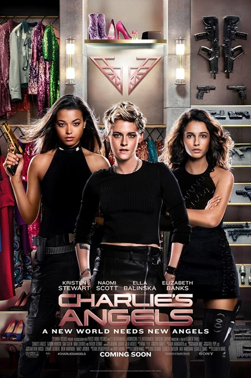 Review Filem Charlie's Angels