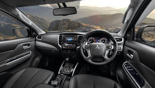 Review of New Mitsubishi Triton Ultimate AT Dual Cabin 4WD 2019: Layout Dashboard