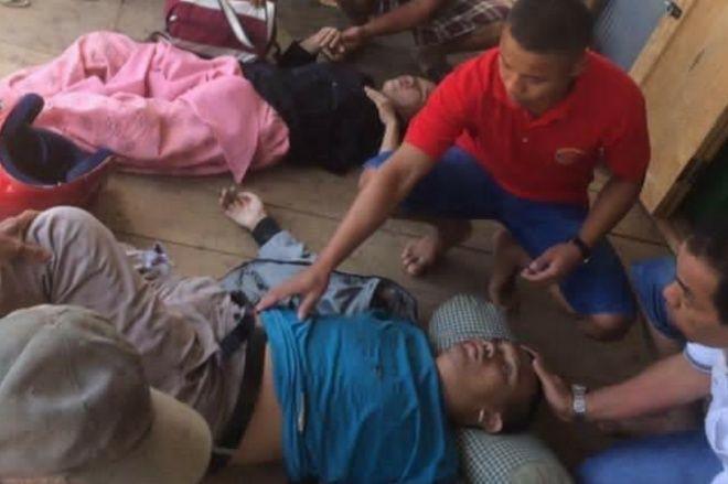 Kecelakaan Di Maros, 2 Pemotor Asal Bone Tak Sadarkan Diri