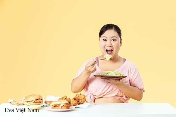 Không ăn thực phẩm gây mỡ bụng dưới