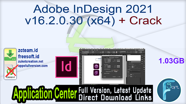 Adobe InDesign 2021 v16.2.0.30 (x64) + Crack_ ZcTeam.id