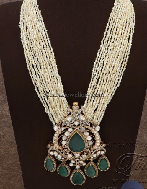 Multi Layers Rice Pearls Haram