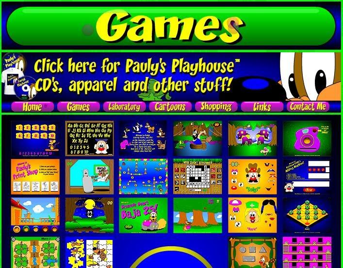 Recursos Para EducaciÓn Infantil: Recursos Para Educación Infantil.: Pauly´s Game Page
