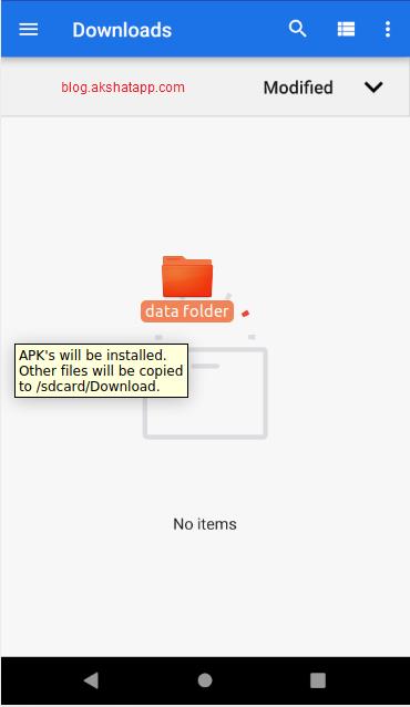 Drag-n-Drop Folders in Emulator