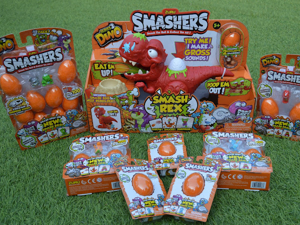 Review | Smashers Series 3 DINO