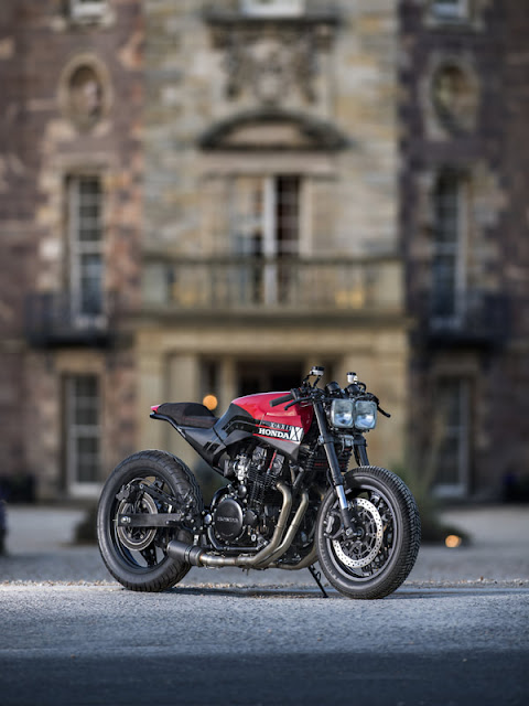 Honda CBX750 By X-Axis Hell Kustom