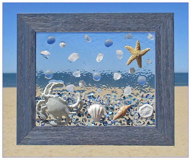 Sea GLASS WINDOW Hanging