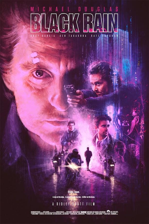 Black Rain (1989) Movie Poster