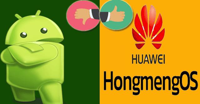 نظام هواوي HongMeng OS الجديد يعمل أسرع بنسبة 60٪ من نظام اندرويد