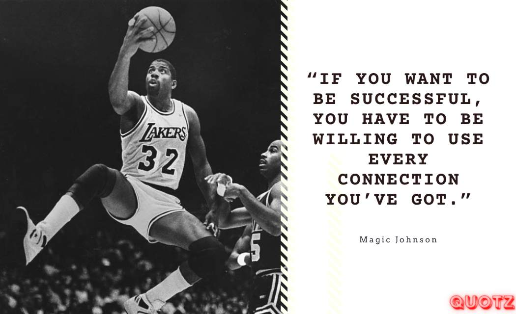 "Quotes by EARVIN ""MAGIC"" JOHNSON with Quotes images"