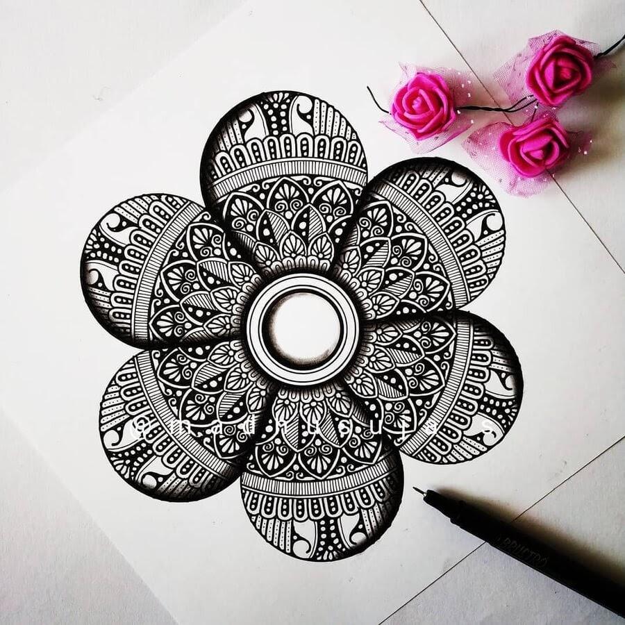13-Flower-petals-3D-Madhusuja-www-designstack-co