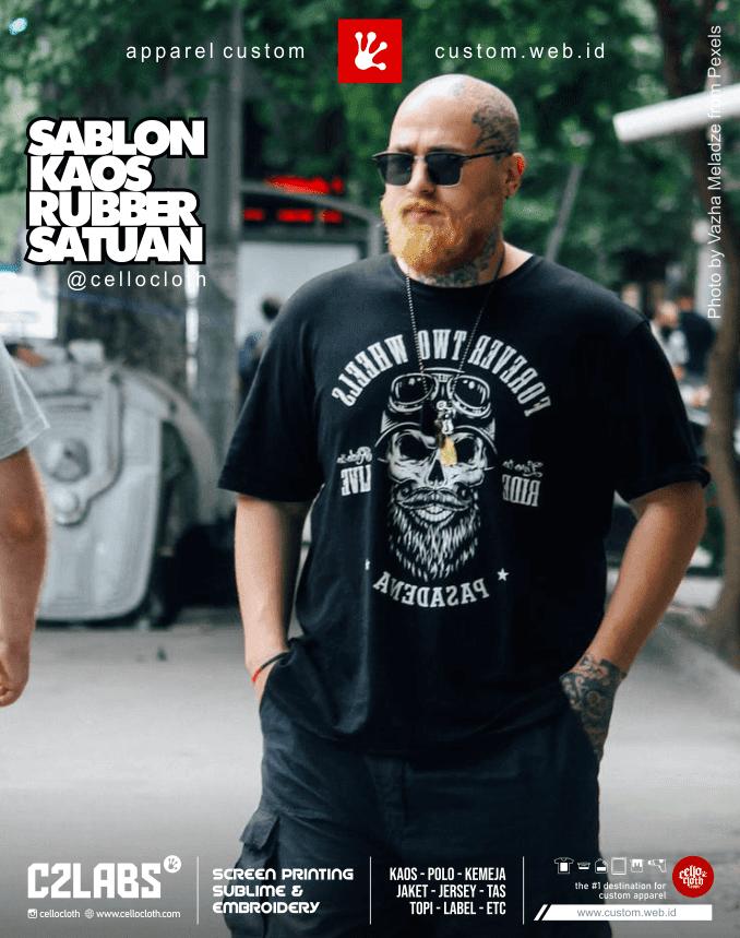 Custom Sablon Satuan Rubber Plastisol Limited - C2 Labs