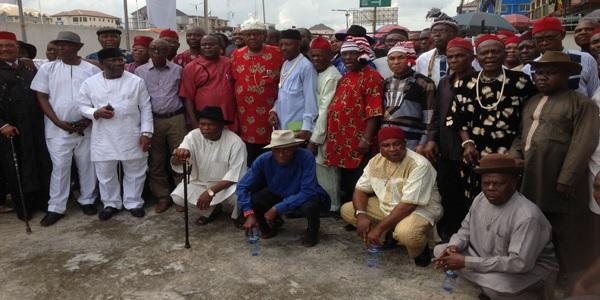 Wabara, Orji, Ogbulafor are fake leaders – Abia elders, monarchs demand Ogah's swearing-in