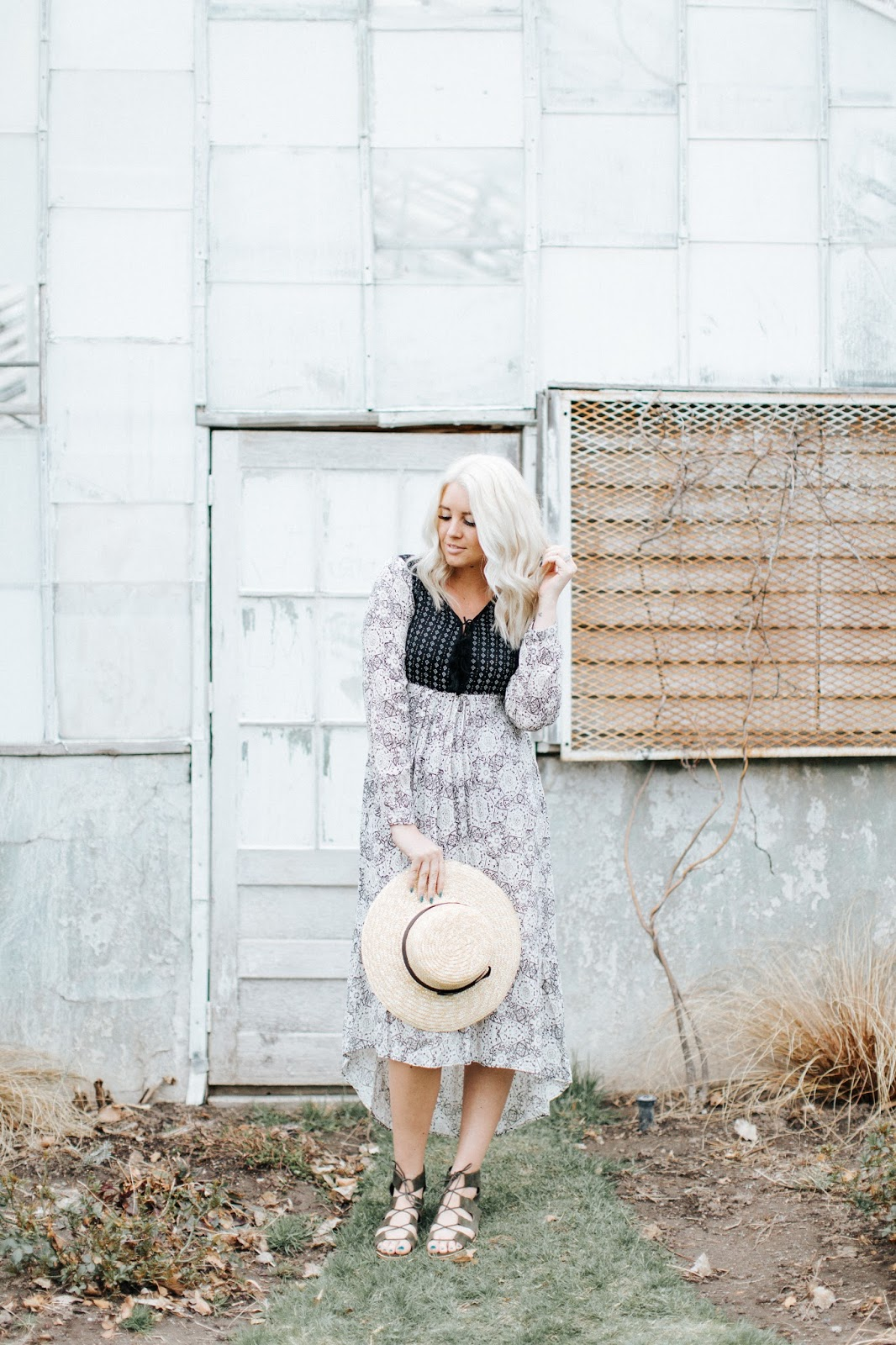 Modesty, Platinum Hair, Sun hat