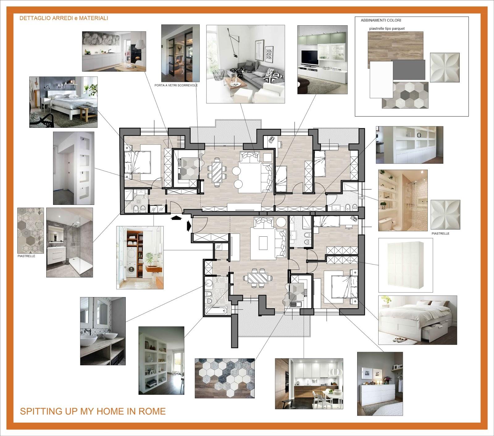 Arredamento e dintorni i miei progetti for Progetti architettura interni