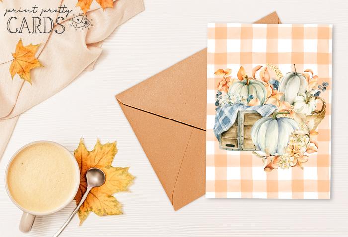 Free Printable Autumn Cards
