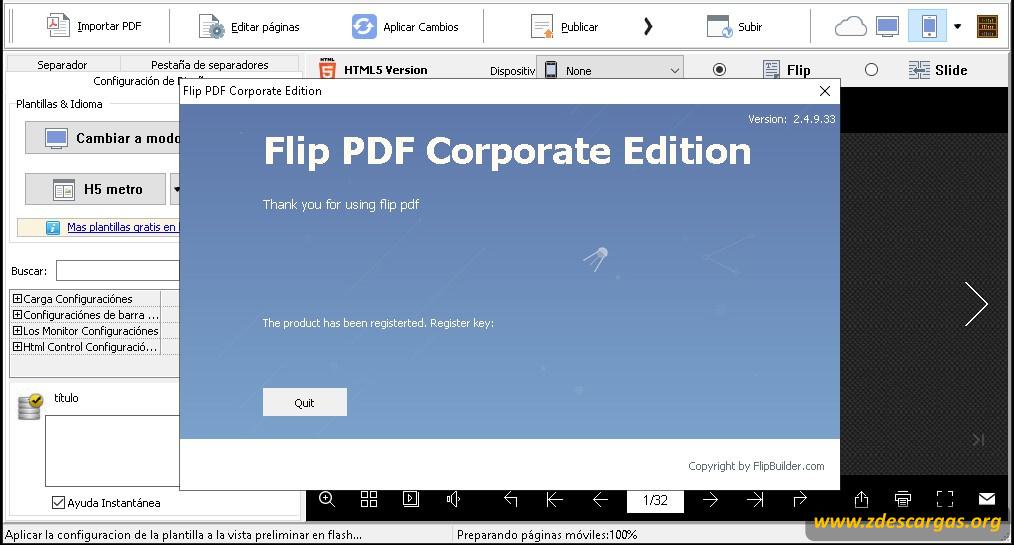 Flip PDF Corporate Edition 2020 Full Español
