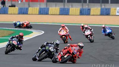 MotoGP Prancis 2021: Jack Miller Pemenang, Valentino Rosi Tertinggal Jauh dan Marquez Terjatuh