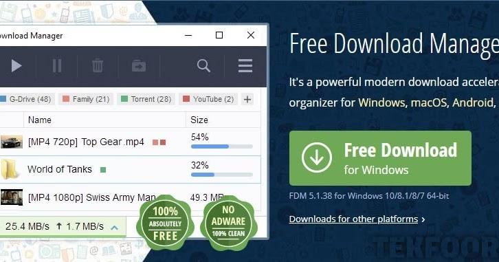 تحميل انترنت داونلود مانجر مجاني عربي