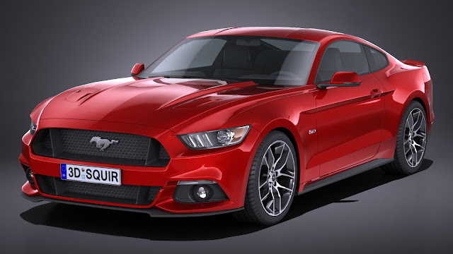 Ford Mustang Rey Musculoso