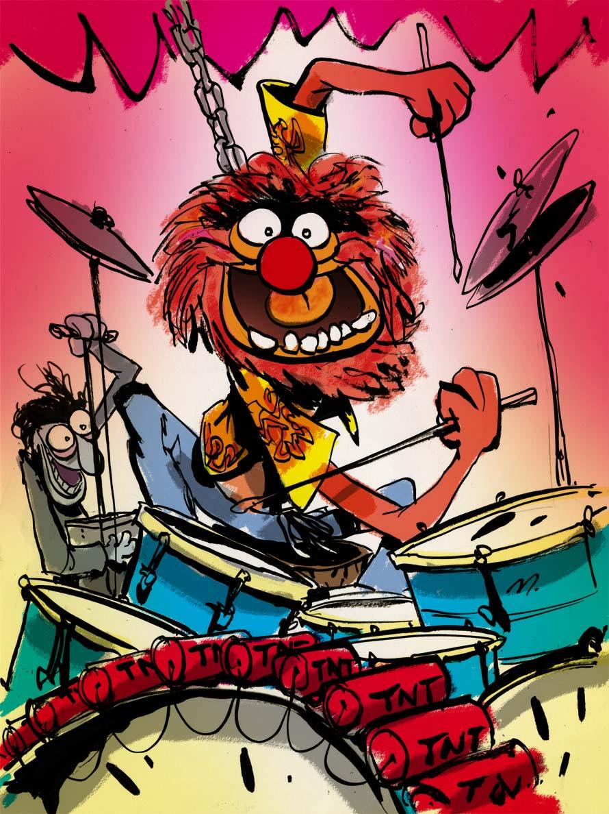 Animal Drum!