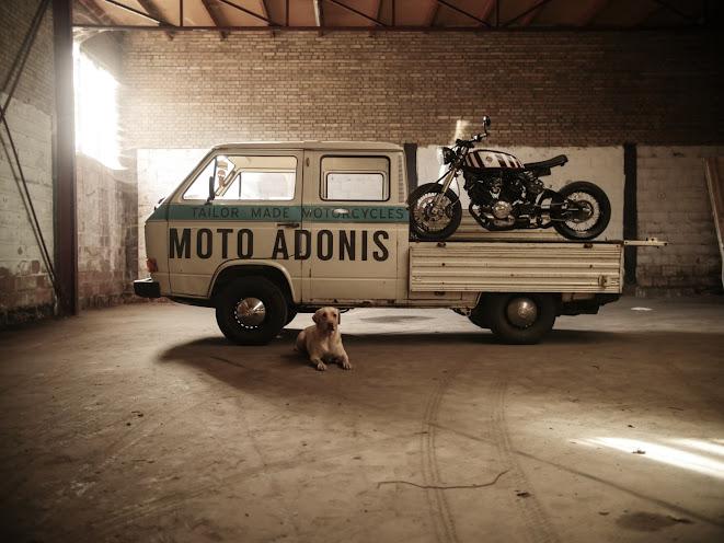 Moto Adonis Yamaha TR1 Tracker and VW Type 25 Doka