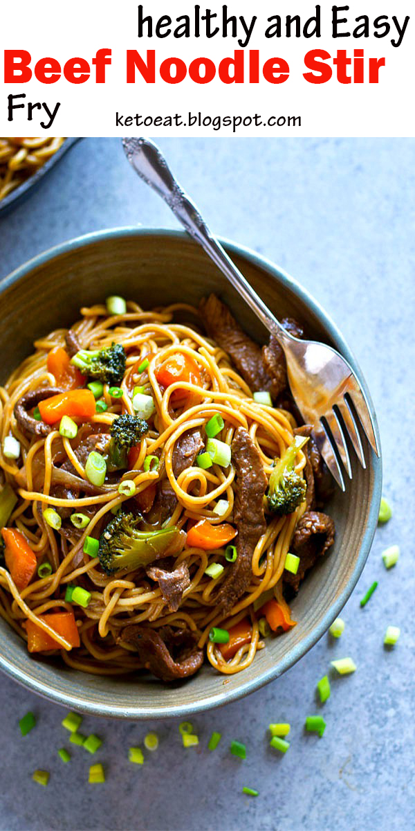 healthy and Easy Beef Noodle Stir Fry#healthyandEasy #Beef #Noodle #StirFry #healthyandEasyBeefNoodleStirFry